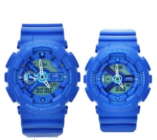 Đồng hồ đôi Baby-G & G-Shock đang làm mưa làm gió