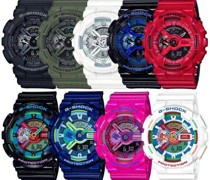 Những mẫu đồng hồ G shock màu xanh đẹp khó cưỡng
