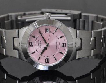 Các mẫu đồng hồ nữ Casio màu hồng cực xinh